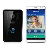 Wholesale ENNIO WiFi Remote Video Camera Door Phone Rainproof Intercom Doorbell Night IR