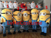 Wholesale The lates Minions Family Despicable Me mascot costume Hot Sale dress Popular Film carnival New Professional custom made