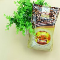 Wholesale Chocolate beans snack food plastic packaging bags colored soft plastic material gravure printing technology eagerly