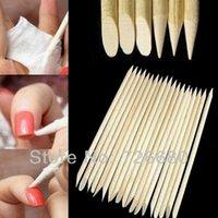 Wholesale Pieces pack Professional Nail Art Pedicure Manicure Tool Teak Wood Stick Dotting Pen