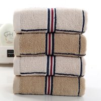 Wholesale NEW ARRIVAL Colors cotton High Quality Towel Adult face cloth towel bath towel classic plaid design Towel x74cm