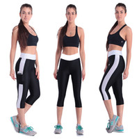 Wholesale lady gym leggings sports Tights Leggings sport Leisure yoga Legging women Pants with side pocket color S396M