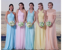 best under wear - Best Sale Cheap Junior Maid Of Honor Dresses Chiffon Long A line Bridesmaid Gowns Prom Wear Wedding Party Occasion Gown SHJ