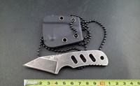 best neck knife - Utility knife U S MTech MINI mini neck knife small knife Fixed blade knife tactical knife survival knife best gift L