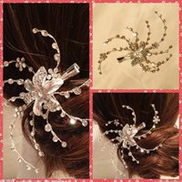 amazing clips - Amazing Handmade Artificial Crystal Beaded Bridal Hair Jewel Accessories Hairpiece Clip Pin For Women Evening Prom Party Top Sale