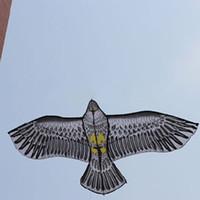 Wholesale New Toys m brand Huge black Eagle Kite With String Novelty Toy Kites Eagles Large Flying order lt no track