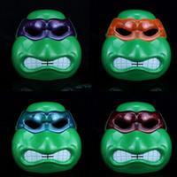 best teenage parties - Superhero Teenage Mutant Ninja Turtles Cartoon LED Flash Mask COSPLAY Party Decoration Mask For Halloween Xmas Kids Adults Best Gifts