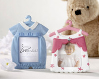 baby place clothes - baby shower party favor gift and giveaways for guest Cute Baby Clothing Design Place Card Frame souvenir