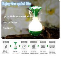 Wholesale High quality aroma diffuser humidifiers air purifier diffuser humidifier with micro usb charger and led night light function