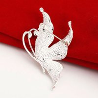 Wholesale 2015 Rushed Knot Gift Brazilian Virgin Hair New Retro Alloy Diamond Butterfly Brooch Korean Version of The Popular Selling Small Mixed Batch