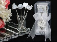 Wholesale sets Mmperial Crown Design Stainless Steel Kitchen Fruit Fork For Wedding Gift set
