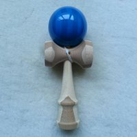 bamboo swords - 18 cm wood High quality kendama natural bamboo Contests kendamas sword jade ballwooden toys children s educational toys educational gift
