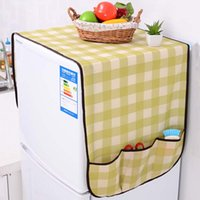 Wholesale Practical Fridge Lattice Refrigerator Dust Proof Cover Multi use Pouch Organize Storage Bag