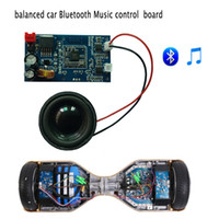 Wholesale Universal Two wheel Scooter Electric Unicycle Smart Balance Car Bluetooth Music Control Board