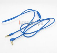 Cheap With Mic Remote Headphone Cable For Marshall Monitor crusher Parrot Zik Bluetooth etc. LN004663