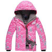 Wholesale new arrival winter outdoor sports cotton jackets snow branded women snowboard waterproof ski jacket skiing waterproof coat