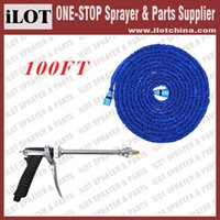 Wholesale iLot high pressure spray gun with FT Garden expandable hose for car cleaning sales