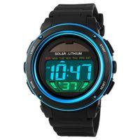 track order - SKMEI Solar Powered Multi function Unisex Wristwatch Digital Men Women Sprots Watch Big Dial ATM Water resistant order lt no track