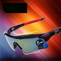 Wholesale Cycling Bicycle Bike Sports Eyewear Fashion Sunglasses Men Women Riding Fishing Glasses Bright Colors PC UV400