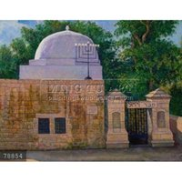 art jewish - 100 Hand painted Judaica oil painting Jewish Art on canvas Victor Brindatch Kever Rachel
