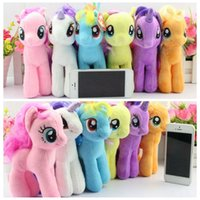 horse doll - My Little Pony Plush Toy styles cm Cartoon plush Dolls Stuffed Toys Plush Animals Horse Dolls