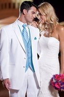 Cheap Wool Blend Groom Tuxedos Best Reference Images Two-Button Formal Occasions Suits