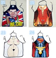 Wholesale 200pcs Star Wars Top Kitchen Apron style To Choose Funny Personality Cooking Apron Anime Cartoon Character Apron