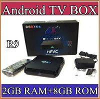 Wholesale R9 M8S K Smart TV Box Amlogic S812 Quad Core GB GB ROM XBMC Media Streamer Player IPTV Mini PC D Movie Games Sports Video AV TV