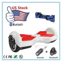skateboards - Stock USA Self Balancing Wheels Skateboard Hoverboard Bluetooth Remote Bag Smart Electric Scooters Inch Two Wheels