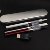 White aluminium battery case - 510 ce3 atomizer kit vaporizer pen bud touch vaporizer with mah automatic battery and ml cbd hemp oil vaporizer with aluminium case