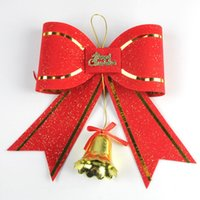 best butterfly ornaments - 30pcs Pack Christmas Tree Decoration Jingle Bell with Butterfly Tie Best Indoor Decoration for Chirstmas New Year Party