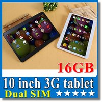 Wholesale 10 inch G Phablet Phone Call Tablet PC GB Dual SIM Android inch px GPS Bluetooth