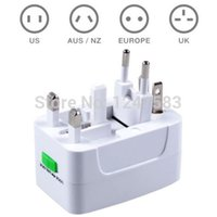Wholesale All in One Universal World Travel Power AC Adapter Plug AU UK US EU Japan
