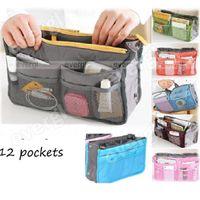 Wholesale S New Handbag Organiser Organizer Large Insert Travel Bag Pockets Colours