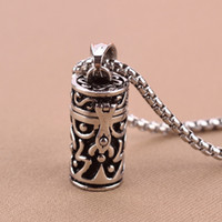 ash china - price openable L Stainless Steel Memorial Cremation Vintage Tube Jewerly Ashes Urn Pendant Locket Necklace Keepsake Jewelry urn