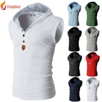 sleeveless hoodie - Fall New Cotton Polyester Men Summer Outdoor Sleeveless Hoodie Vest Jacket Sweatshirt Colete Masculino Casacos Sueter Masculino