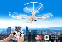 Wholesale Free Shiping Four axis aircraft GHz RC drone helicopter quadcopter Drone with HD camera RC helicopter with retail box