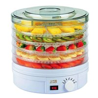 Wholesale 2015 New Food Dehydrator Fruit Vegetable Herb Meat Drying Machine Snacks Dryer kitchen appliance Fruit dehydrator with trays