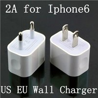 air ac adapter - 5V A iPhone US EU AU Plug Home Wall Charger AC Travel USB Adapter for iPhone S S Samsung Galaxy S5 S4 S3 Note4 HTC iPad Air US06