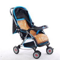 bamboo baby chair - Baby stroller Mats Chinese Bamboo Handmade Baby chair Mats Chinese Craft Sleeping Bed Mat For Sale C1