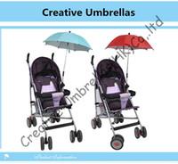 baby rib fabric - Baby stroller steering umbrella children car umbrella mm steel shaft amp fiberglass ribs detachable clamp Environment