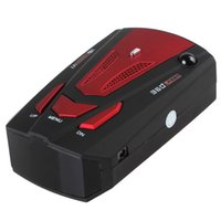 Wholesale 2015 New Degree Detection English Russian Voice Alert V7 Band Car Radar Detector for Car Speed Limited CEC_921