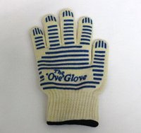 Wholesale High quality Oven Mitts the Ove Glove Surface Handler Microwave Oven Glove With Non Slip Silicone Grip heat resistant gloves