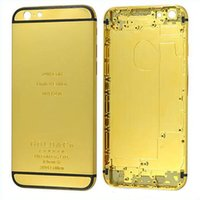 Wholesale 24K Gold Plating Battery Back Housing Cover Skin for iPhone quot DHL Free