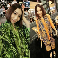 al por mayor chai persa-El mantón persa de la venta al por mayor-S246 que hace juego el algodón femenino del color del boho del retro que envía la bufanda larga 180 * 110cm de la bufanda de las mujeres