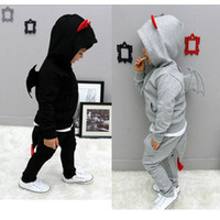 baby boys hoodies - New children hoodies clothing set kids pant coat boys clothes child tracksuits baby outfits wear