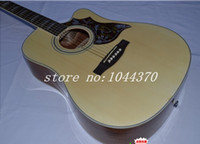 chibson - new hot sell New Factory Chibson songwriter Deluxe acoustic electric guitar
