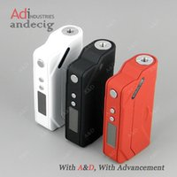 Wholesale LAST Batch Special Offer Authentic Sigelei w TC box mod For moonshot tank limitless rdta plus atomizer vaporizer w