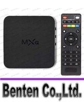 Cheap MXQ Quad Core 4.4 Android Smart set TV BOX XBMC KODI Fully (US) NIVE LLFA4862F