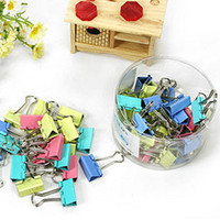 No affordable office supplies - Free ship box pc Color Binder Clip mm file clip office supplies essential note folder affordable pack order lt no tracking